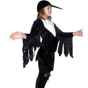 Карнавальные костюмы вороны своими руками